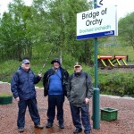 Arriving at Bridge of Orchy