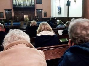 Prayer at Airdrie Baptist