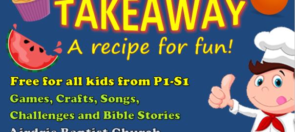 Big Bible Takeaway – a recipe for fun!