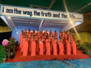 Youth Conference choir