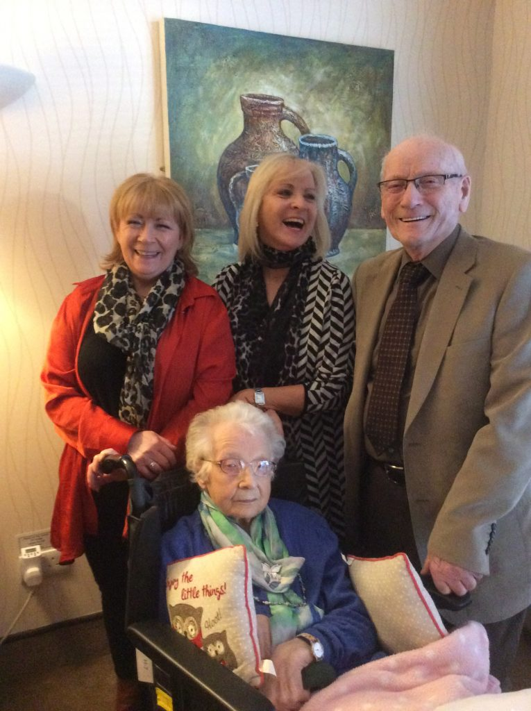 John, Ann, Audrey and Sandra